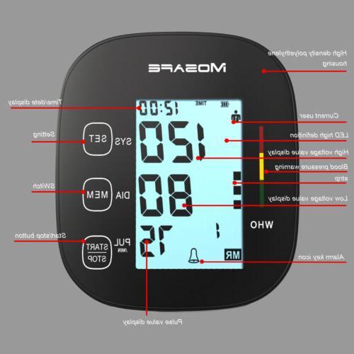 Automatic Blood Pressure Monitor Machine