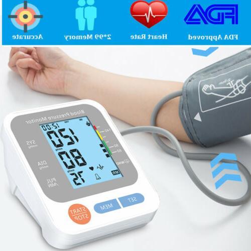 automatic digital arm blood pressure monitor gauge