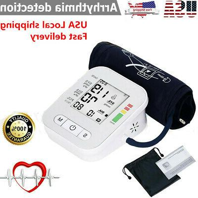 automatic digital arm blood pressure monitor large