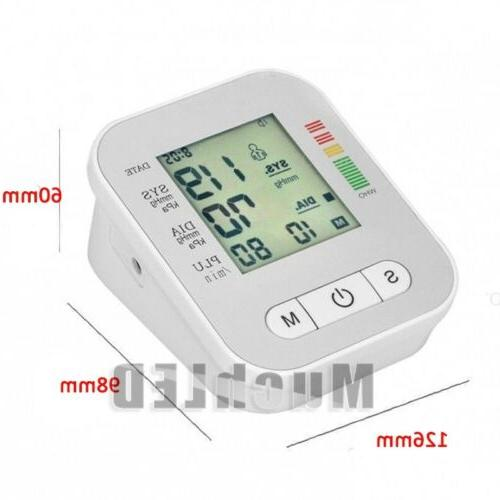 Automatic Digital Blood Cuff Monitor Pulse Rate US