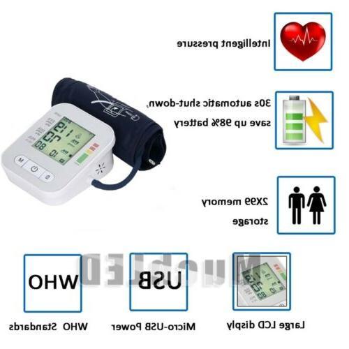 Automatic Blood Cuff Pulse Machine US