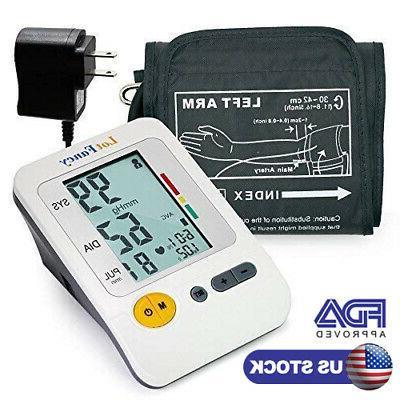 automatic digital upper arm blood pressure monitor