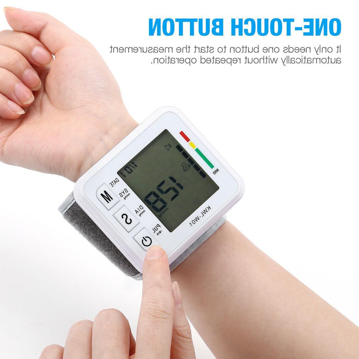 Automatic Digital Wrist Pressure Monitor Machine Home