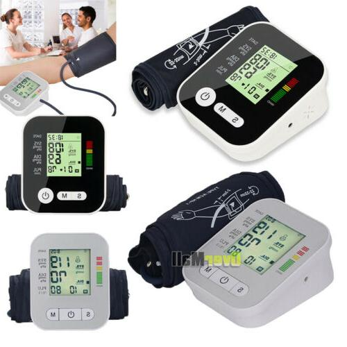 automatic electronic blood pressure monitor with voice