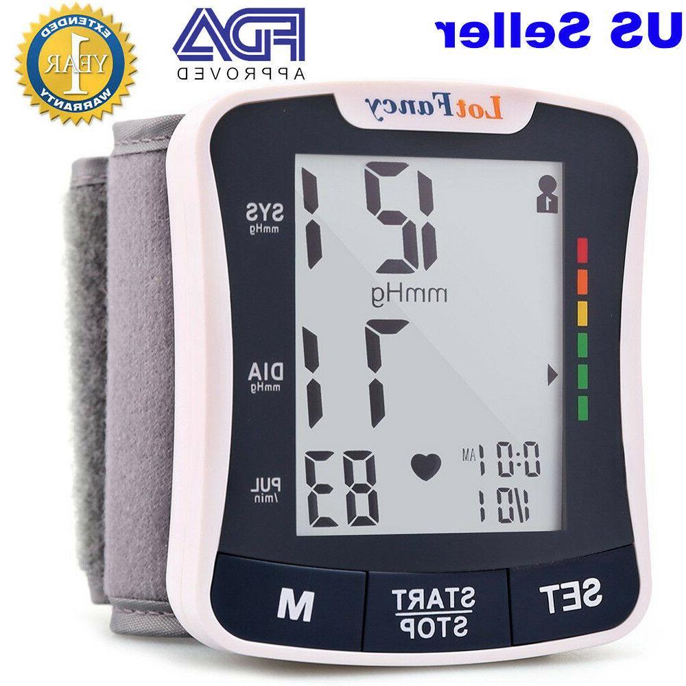 Automatic High Wrist Pressure Monitor BP Machine Device