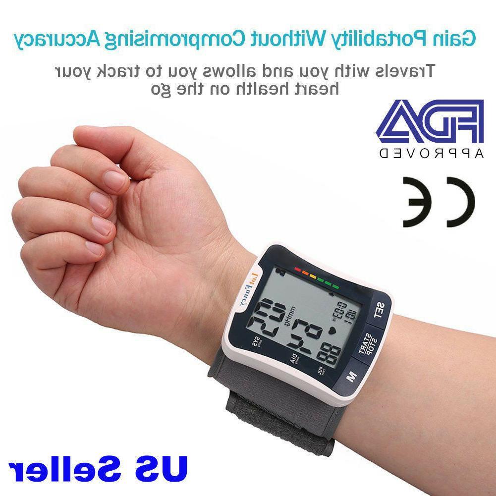 Automatic High Wrist Pressure Monitor BP Cuff Machine
