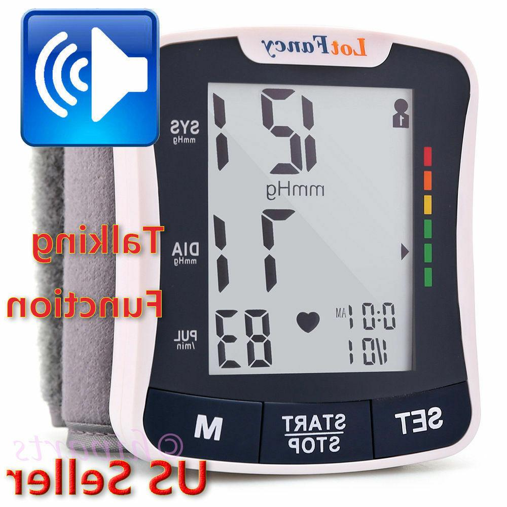 automatic high wrist blood pressure monitor bp