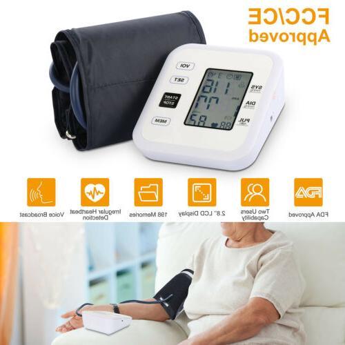 Automatic Blood Pressure Digital FDA Memory