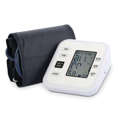 Automatic Upper Arm Blood Pressure Digital FDA Memory