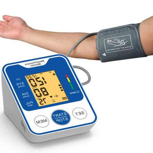 Automatic Digital Blood Pressure Pulse Meter Machine