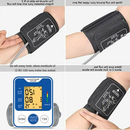 Automatic Arm Digital Blood Monitor Meter