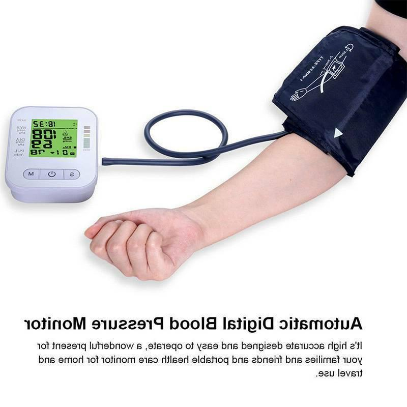 Automatic Arm Blood Monitor Pulse Meter BP Cuff