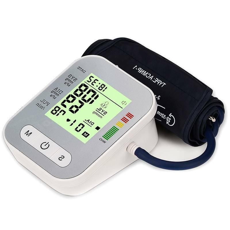Automatic Upper Arm Digital Blood Monitor Pulse Meter