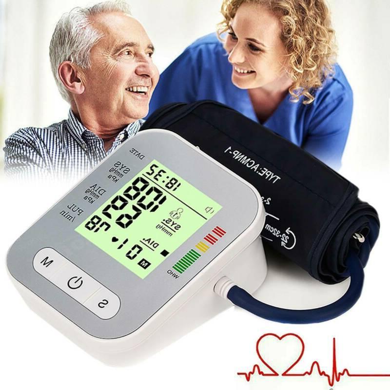 automatic upper arm digital blood pressure monitor