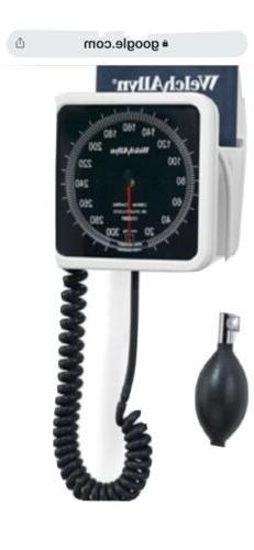 Welch Allyn Blood Pressure Monitor 767 Wall Mounte type wiit