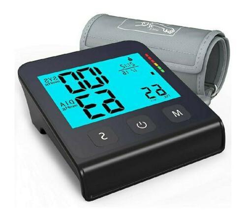 blood pressure monitor upper arm smart pressurized