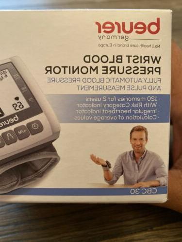 CBC30 Wrist Blood Monitor & Digital 2X 60