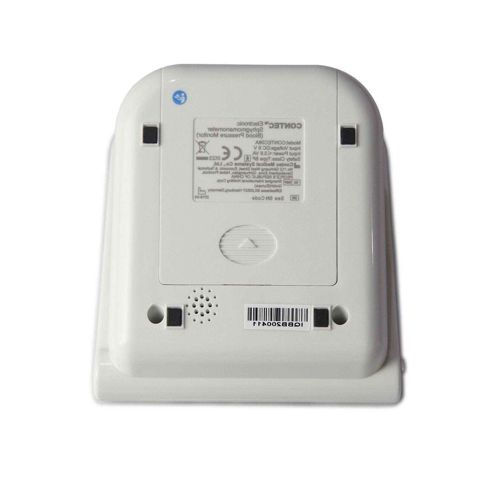 CONTEC-08A Digital Pressure Monitor Upper BP Cuffs+SW