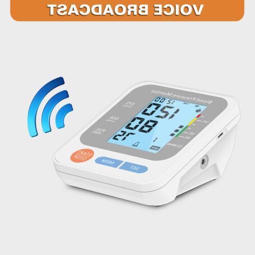 Automatic Arm Monitor Digital Cuff Pulse Heart