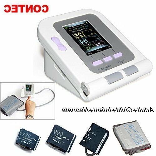 contec 08a digital blood pressure monitor upper