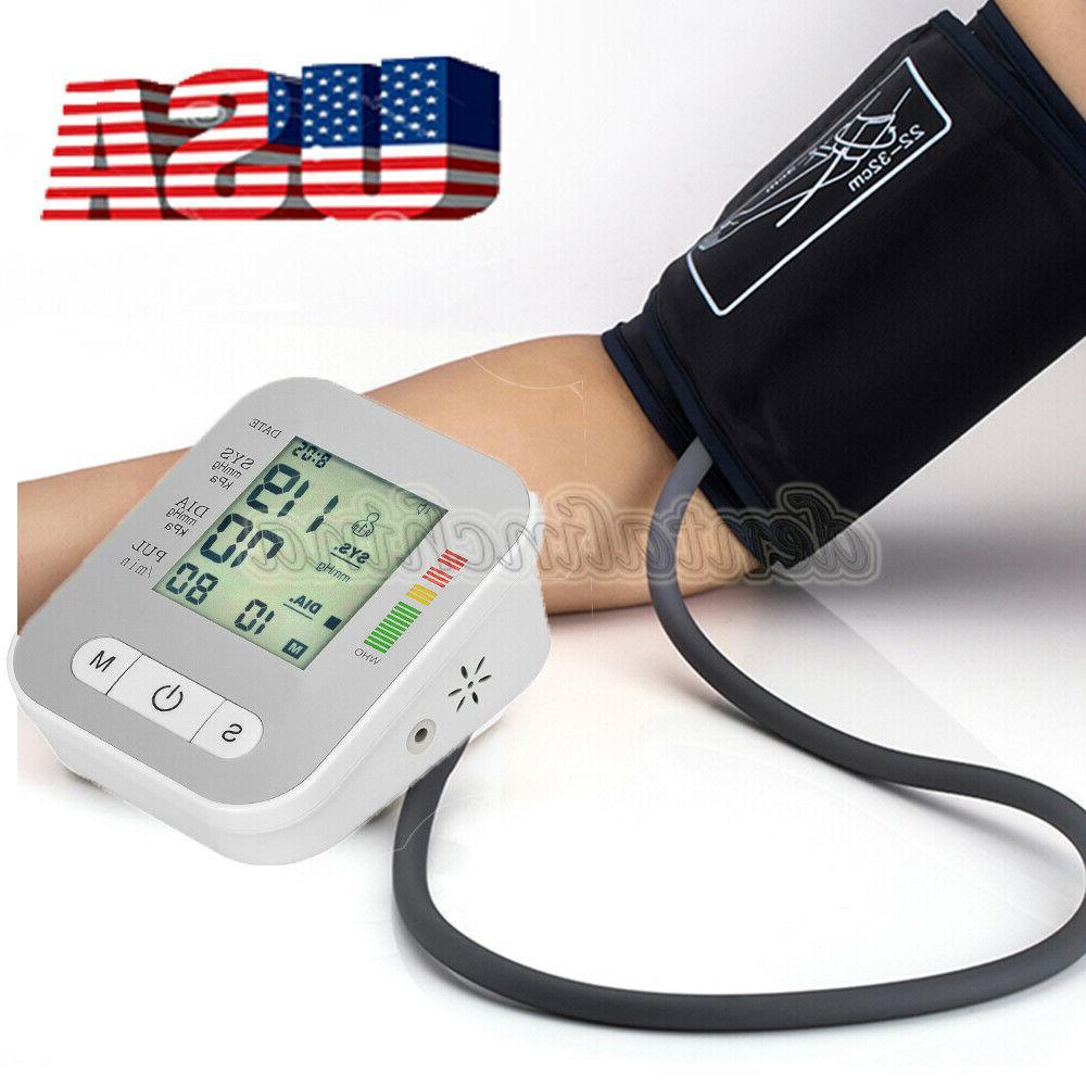 digital blood pressure pulse monitor upper arm