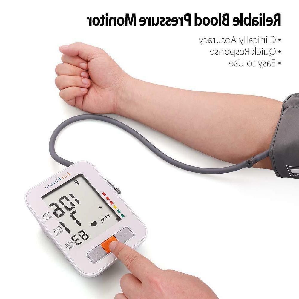 Smart Blood Pressure Monitor Rate Machine Medium Meter