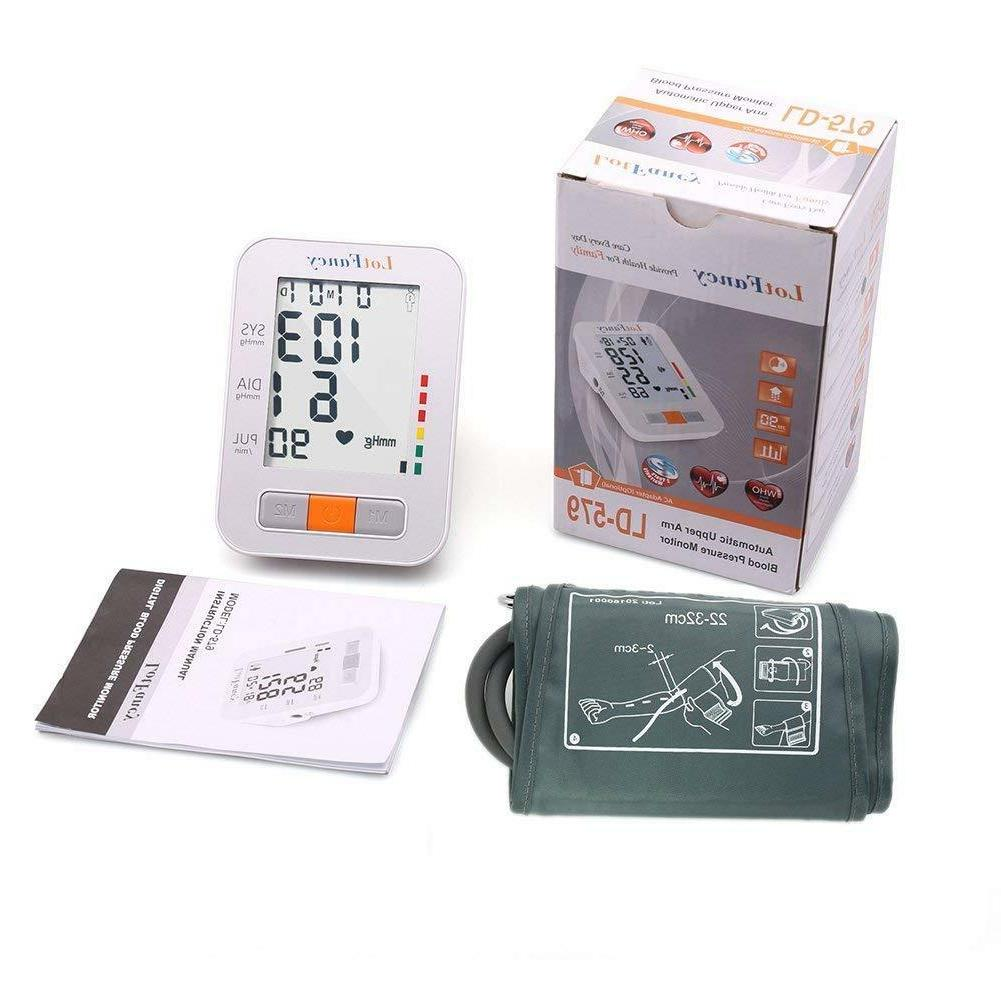 Smart Pressure Monitor Machine BP Meter
