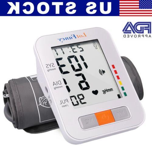 smart digital arm blood pressure monitor heart
