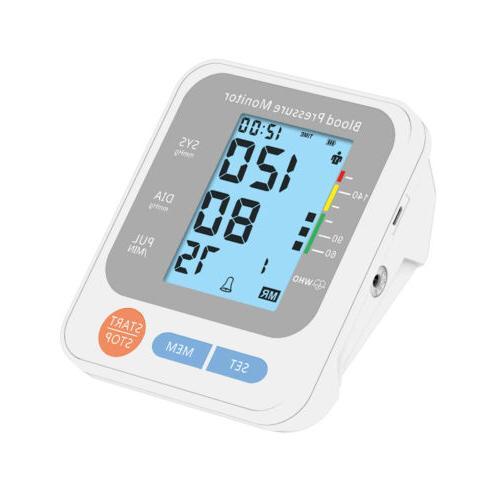 Automatic Arm Monitor Digital BP Pulse Rate