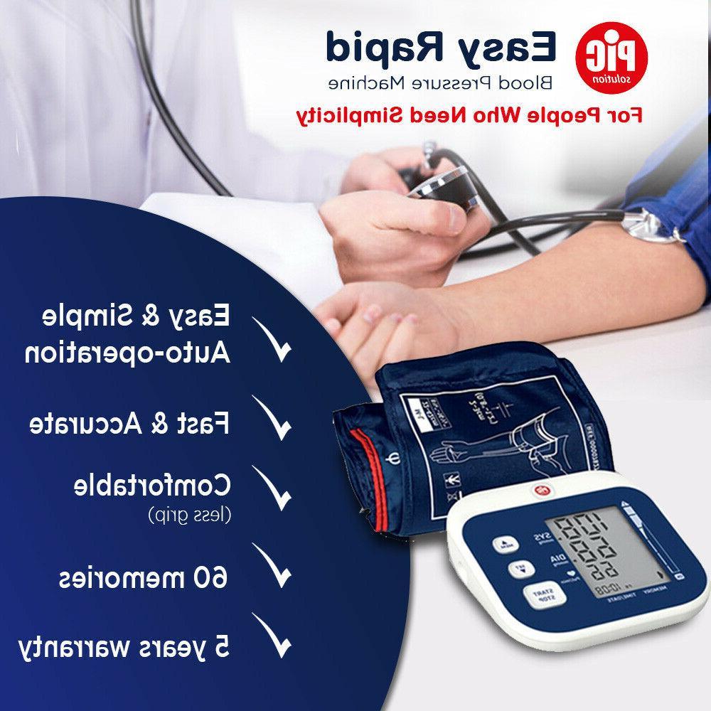 digital upper arm blood pressure monitor easy
