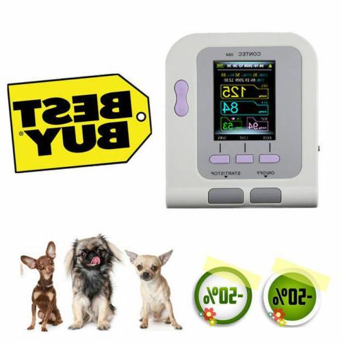 digital vet veterinary blood pressure monitor bp
