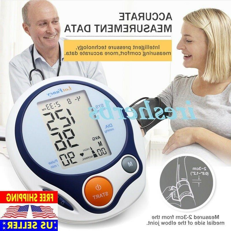fda auto digital arm blood pressure cuff