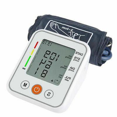 Blood Pressure Monitor Voice BP Meter Machine