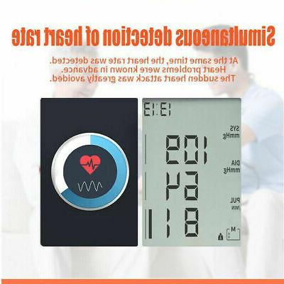 Heart Rate Blood Pressure Monitor BP Meter Machine