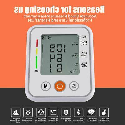 Heart Rate Blood Pressure BP Gauge Machine