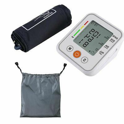 Heart Rate LCD Blood BP Meter