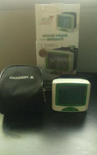 jumbo screen premium blood pressure monitor wrist