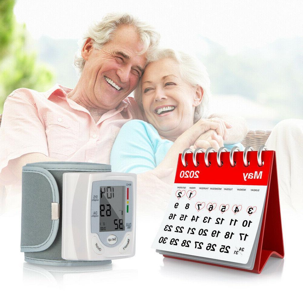 NEW Automatic Blood Pressure Monitor Cuff Machine US