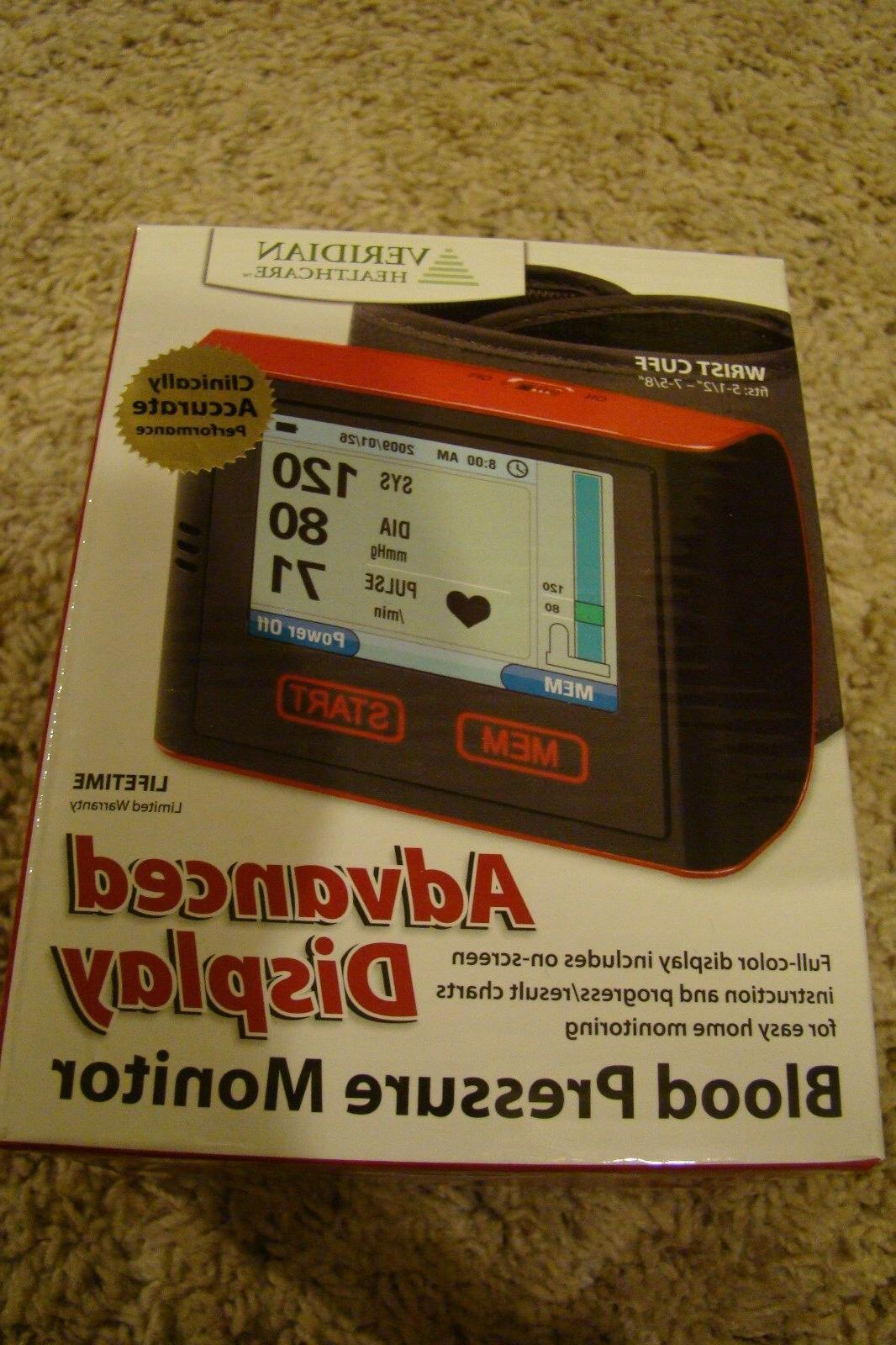 new blood pressure monitor wrist cuff audible