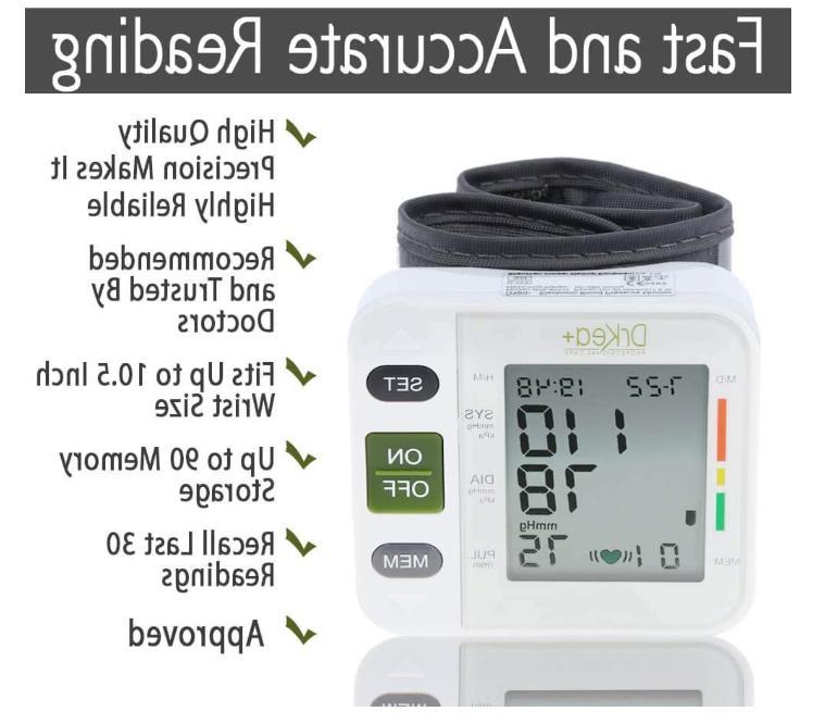 New DrKea Wrist Pressure Monitor