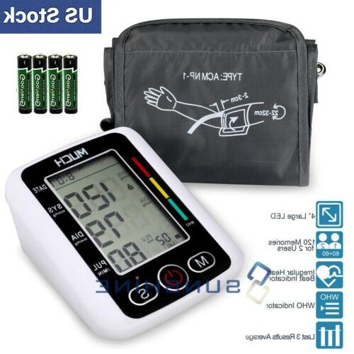 rechargeable automatic upper arm digital bp cuff