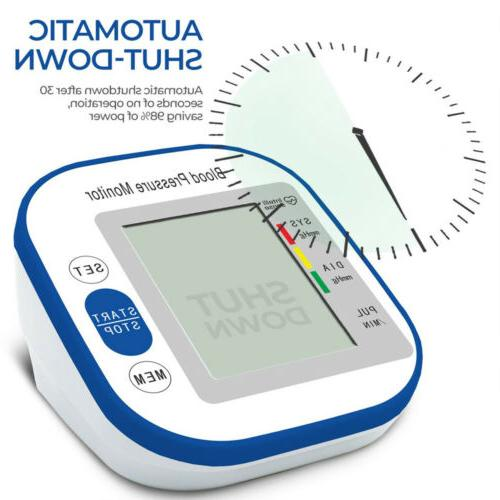 Upper Arm Blood Monitor Portable LED Display Pulse Tester