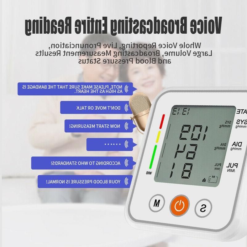 Upper Arm Digital Blood Pressure Monitor Machine