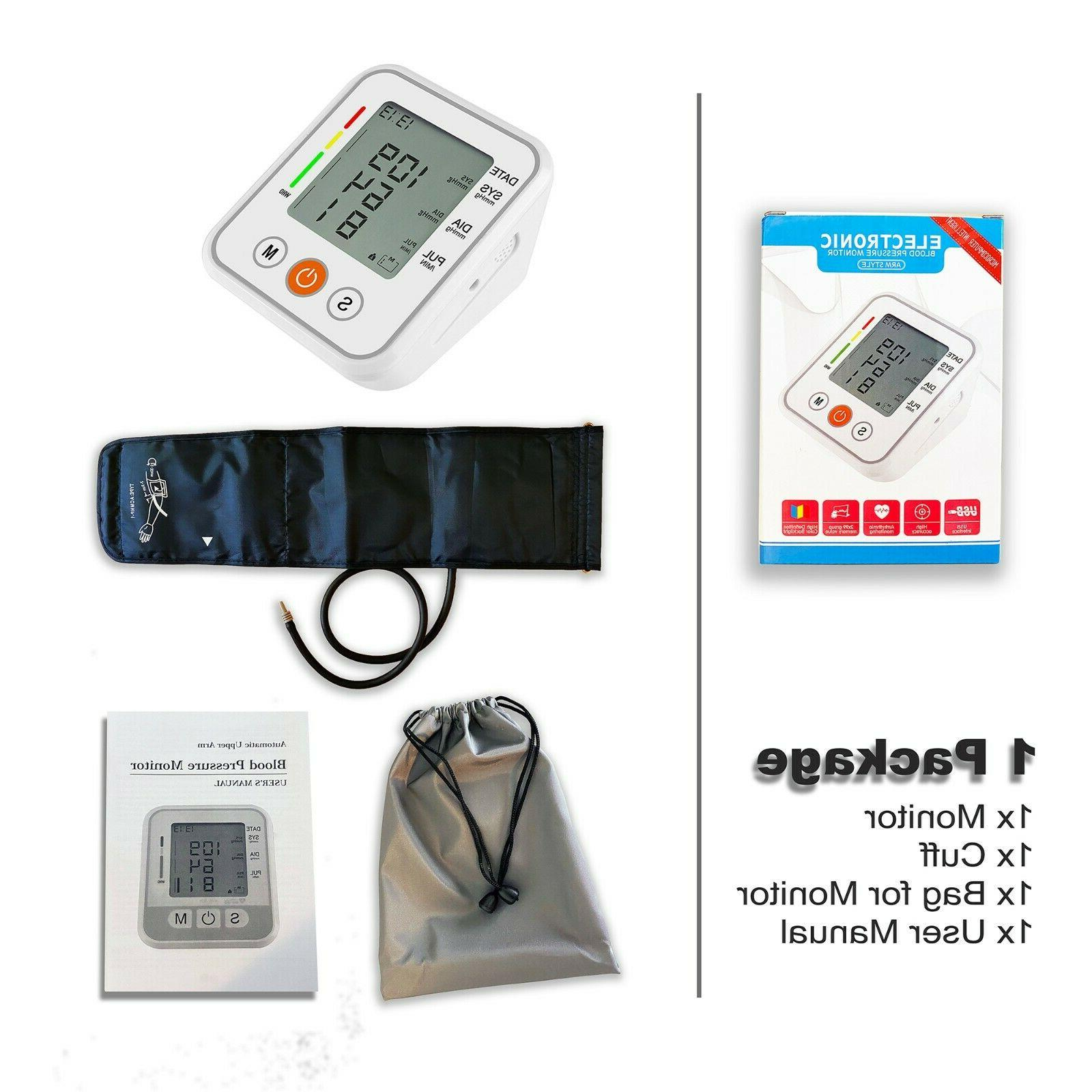 Upper LCD Blood Pressure Monitor Machine