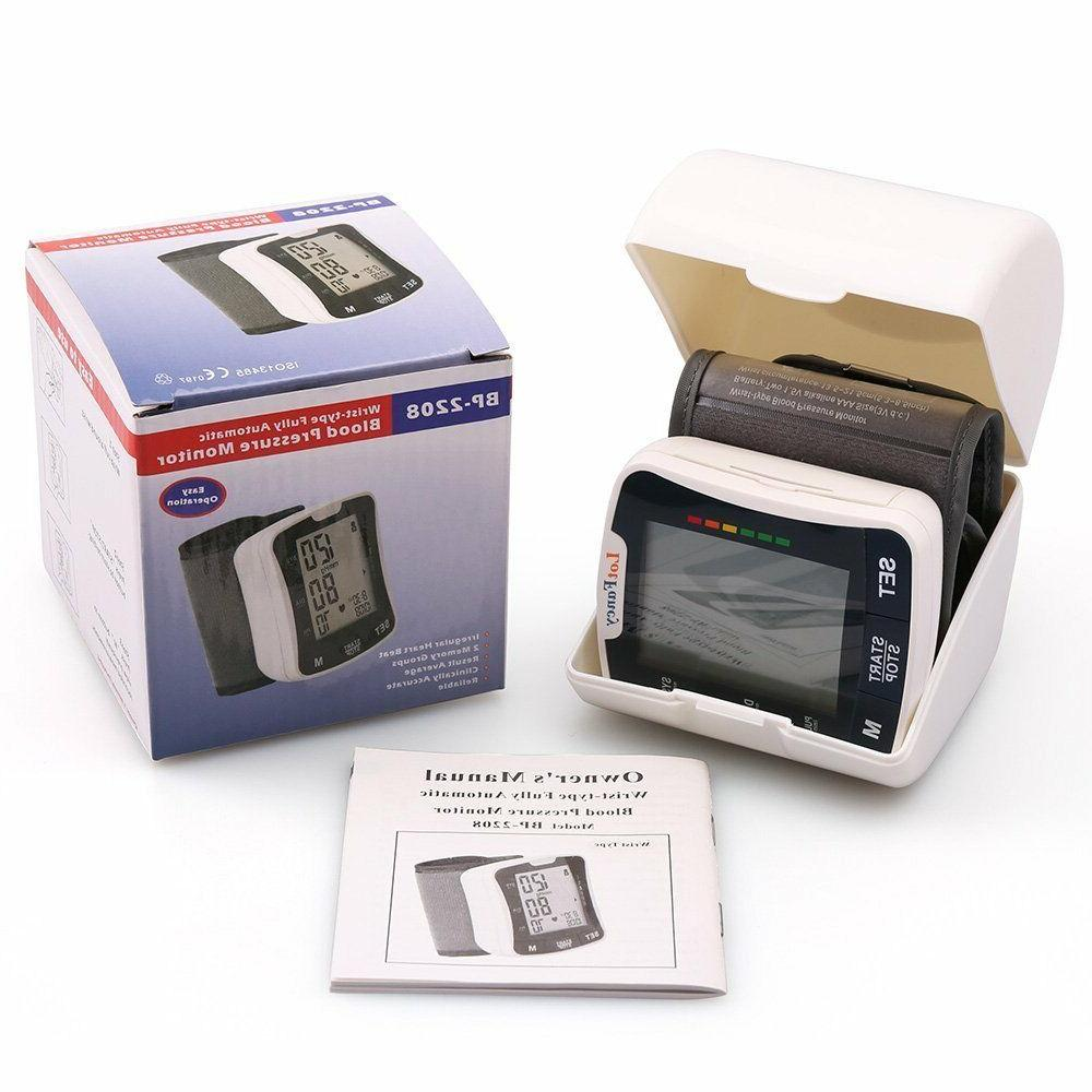 Automatic High Wrist Blood Pressure Monitor Machine