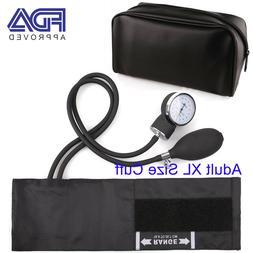 Manual Aneroid Sphygmomanometer Blood Pressure Cuff BP Monit