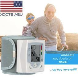 new automatic digital wrist blood pressure monitor