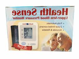 NEW Health Sense Digital Upper Arm Blood Pressure Monitor wt