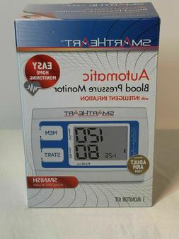 NEW Smart Heart Bilingual Digital Blood Pressure Arm Monitor