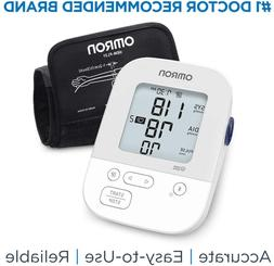 Omron Silver Blood Pressure Monitor, Upper Arm Cuff, Digital